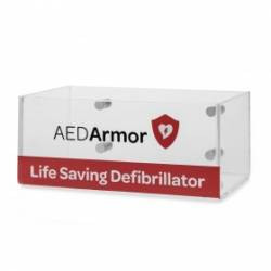 AED Armor Perspex Wall Box Large