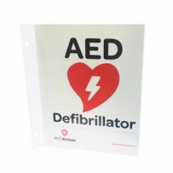 AED Armor 3D Wall Sign